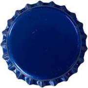 Tampinha - Rolha Metálica Azul Pry-Off 26mm
