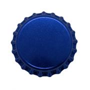 Tampinha Champagne Azul 29mm - Pacote 50un
