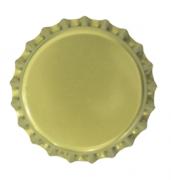 Tampinha Champagne Dourada Gold 29mm - Pacote 50un