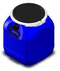 Bombona 30L - Balde Fermentador Plástico Alimentício