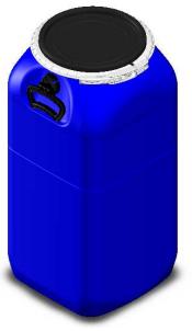 Bombona 60L - Balde Fermentador Plástico Alimentício