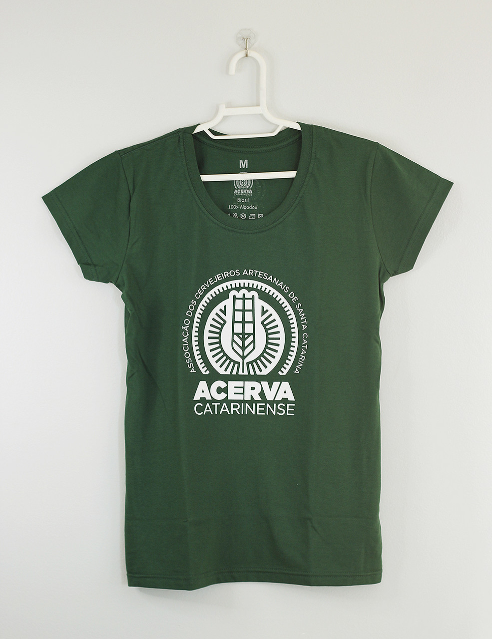 Camiseta Baby Look Acerva Catarinense Verde