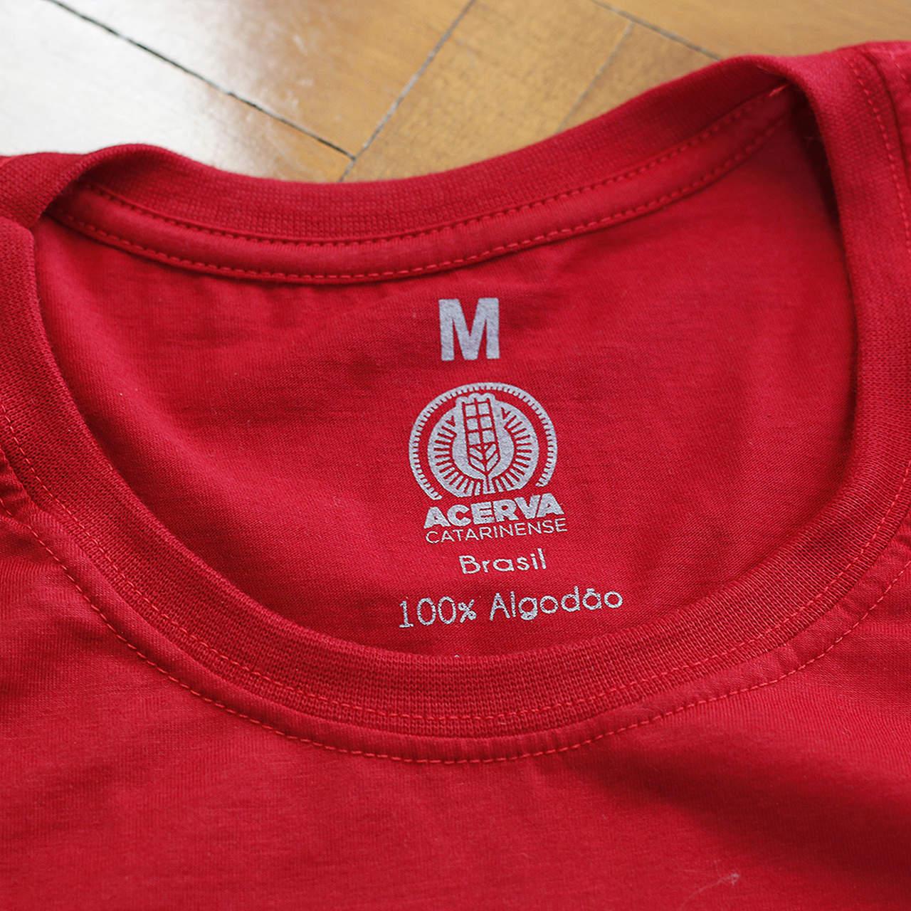 Camiseta Baby Look Acerva Catarinense Vermelho  - Maria Cervejeira