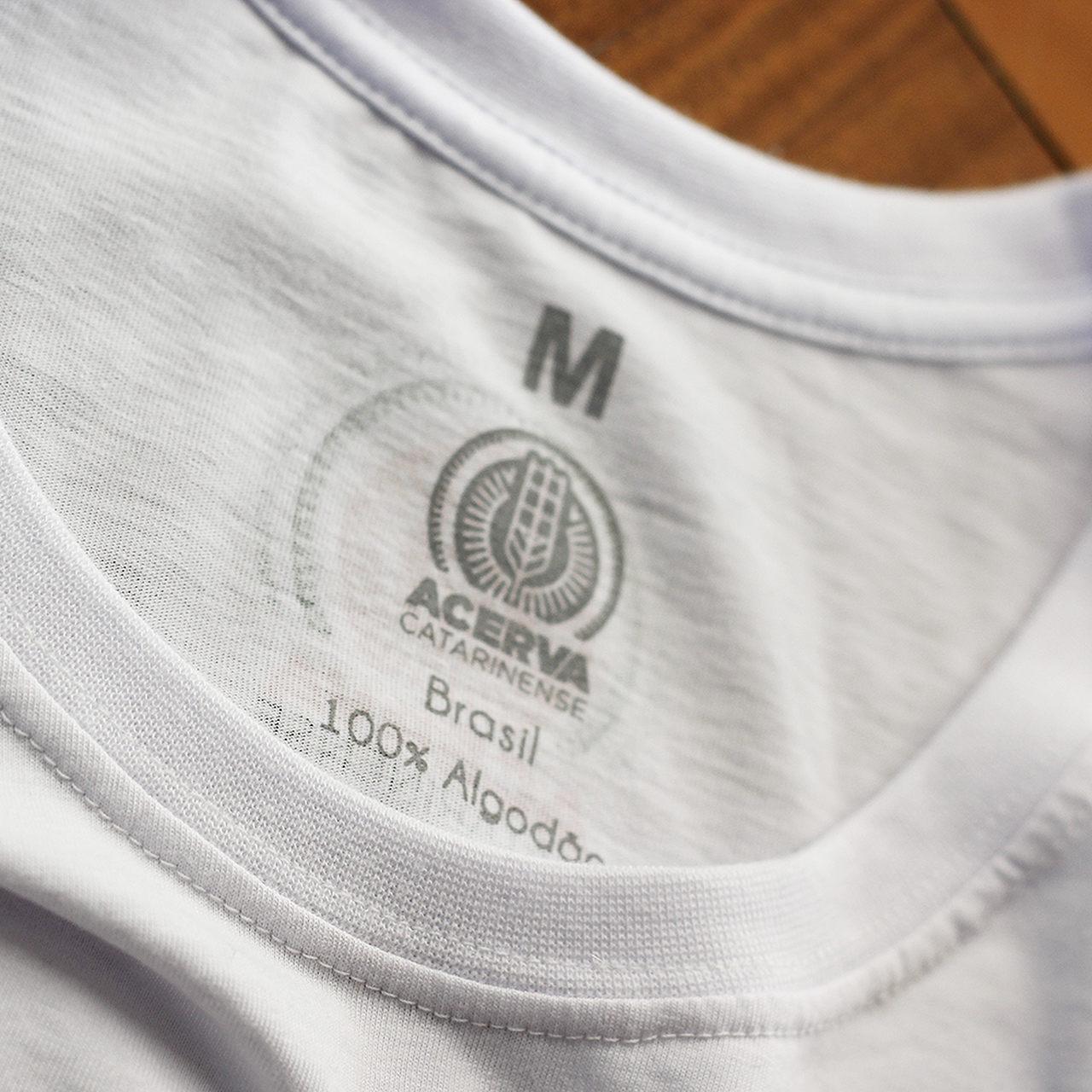 Camiseta Masculina Acerva Catarinense Branco  - Maria Cervejeira
