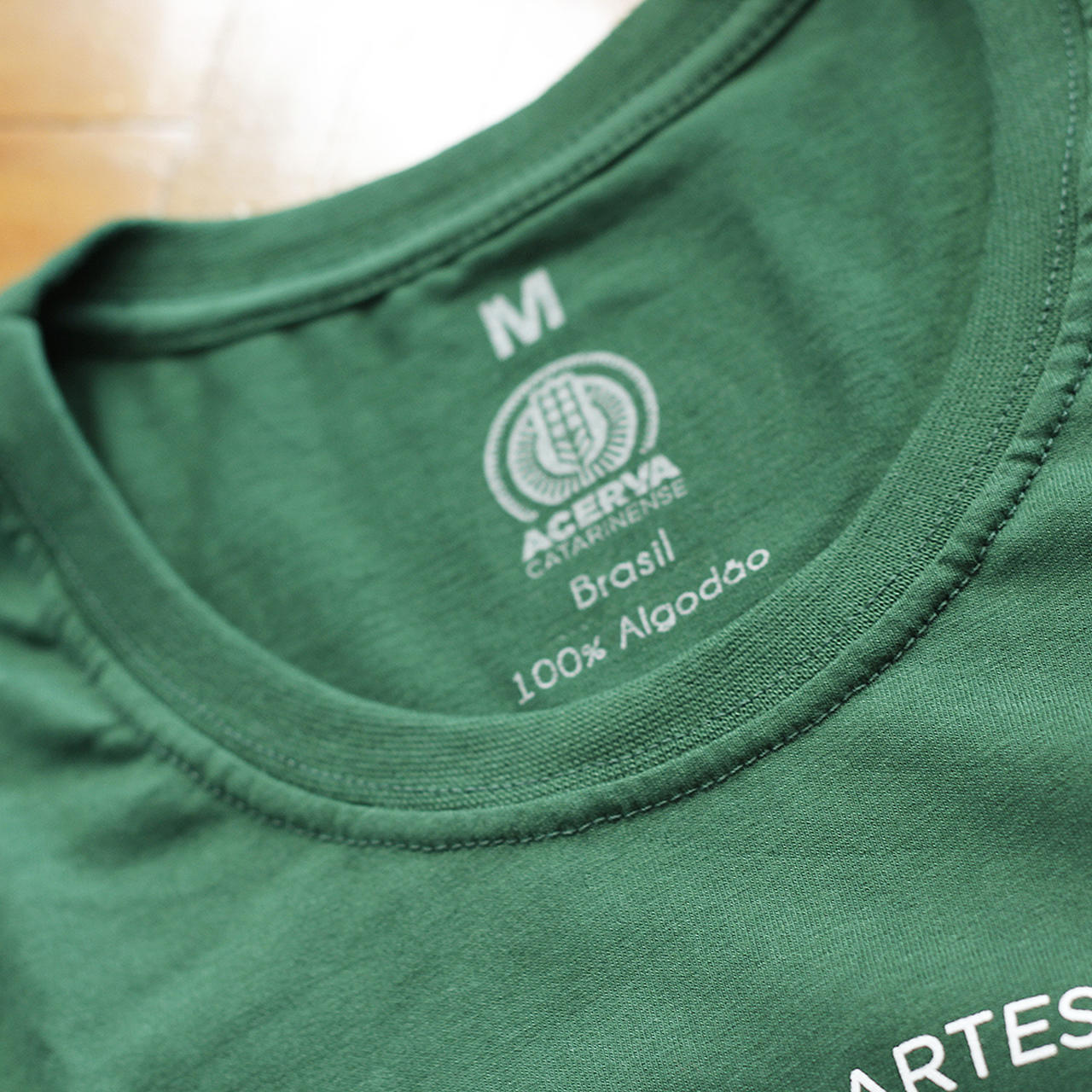 Camiseta Masculina Acerva Catarinense Verde  - Maria Cervejeira