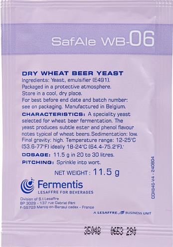Fermento Fermentis Safale WB-06