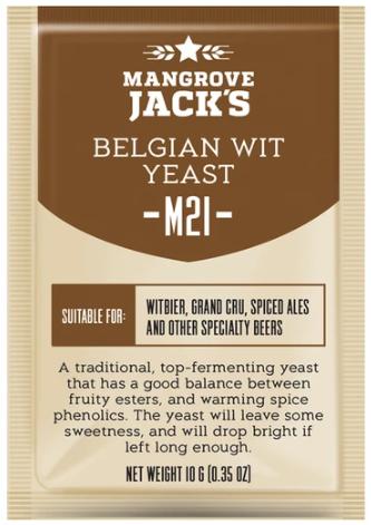 Fermento Mangrove Jacks - M21 - Belgian Wit