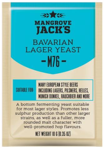 Fermento Mangrove Jacks - M76 - Bavarian Lager