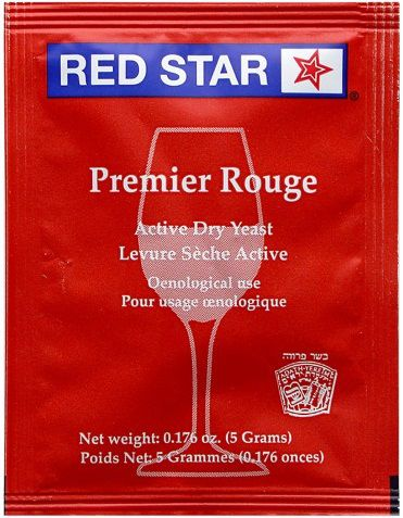 Fermento Red Star Premiere Rouge