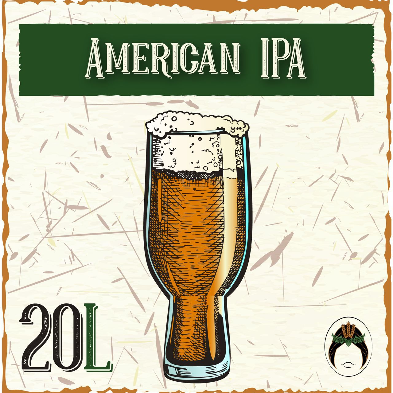 Kit Receita Cerveja Artesanal American IPA 20L