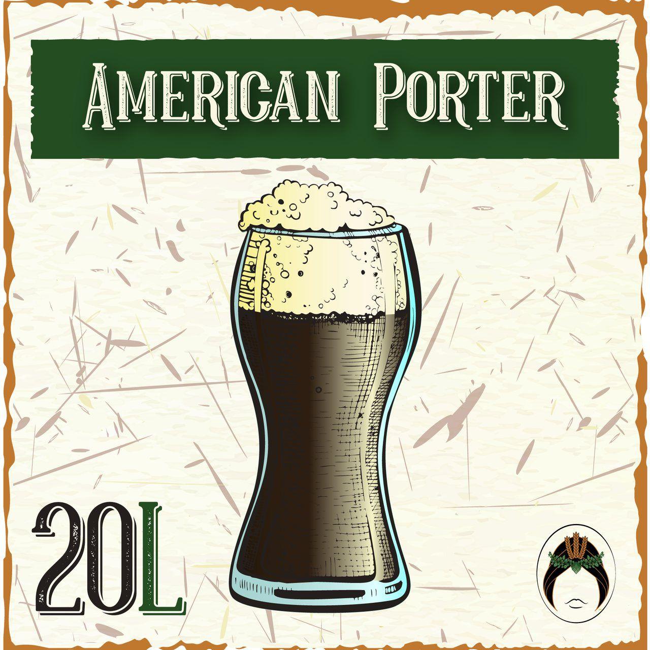 Kit Receita Cerveja Artesanal American Porter 20L
