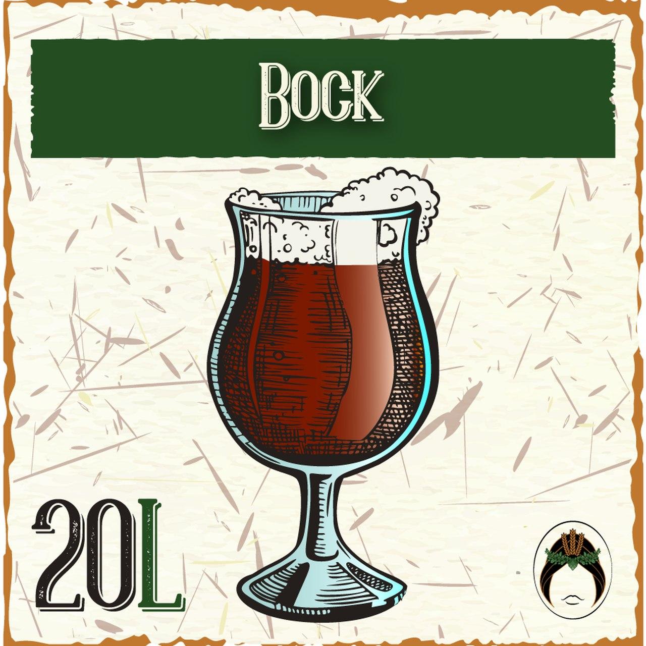 Kit Receita Cerveja Artesanal Bock 20L