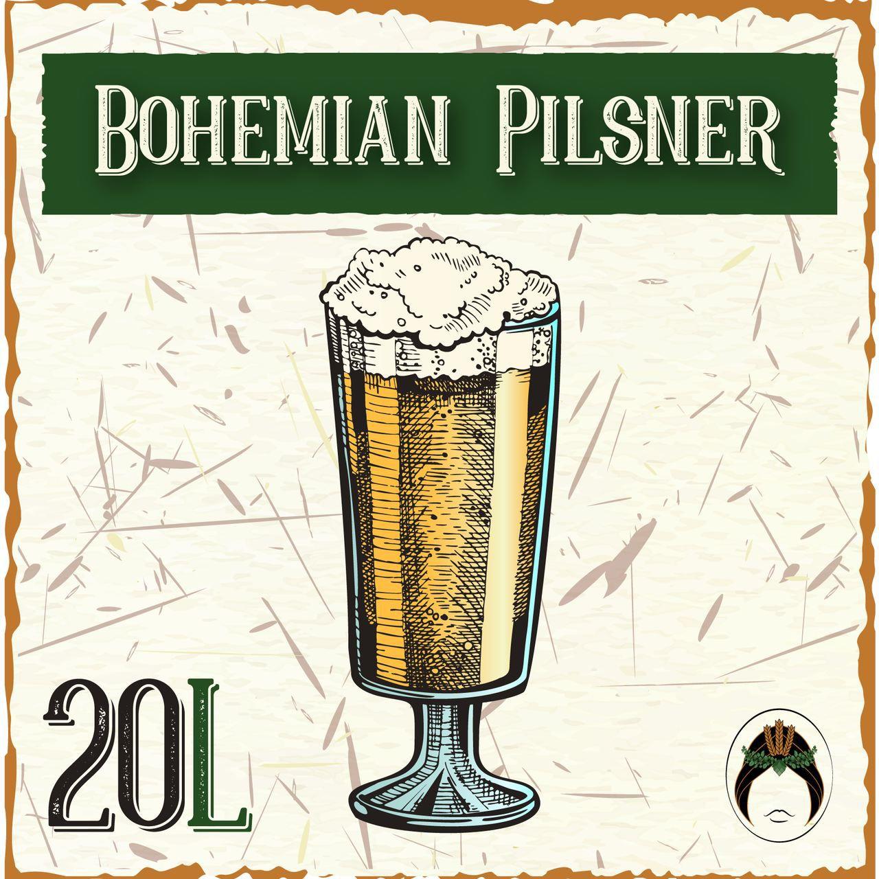 Kit Receita Cerveja Artesanal Bohemian Pilsner 20L  - Maria Cervejeira