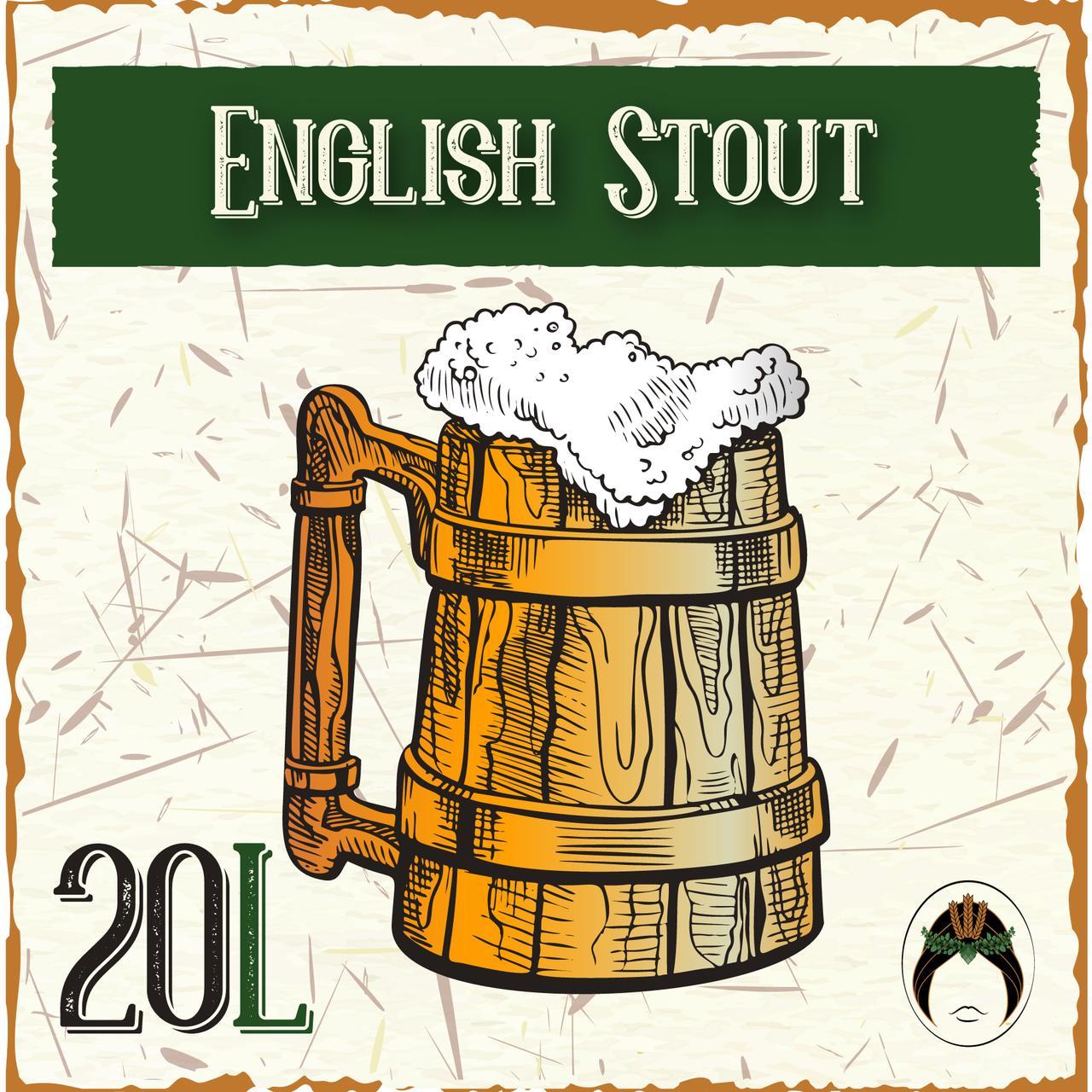 Kit Receita Cerveja Artesanal English Stout 20L