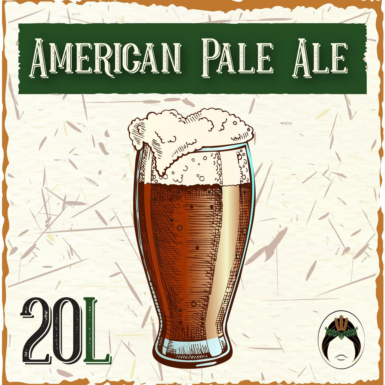 Kit Receita Cerveja Artesanal American Pale Ale 20L