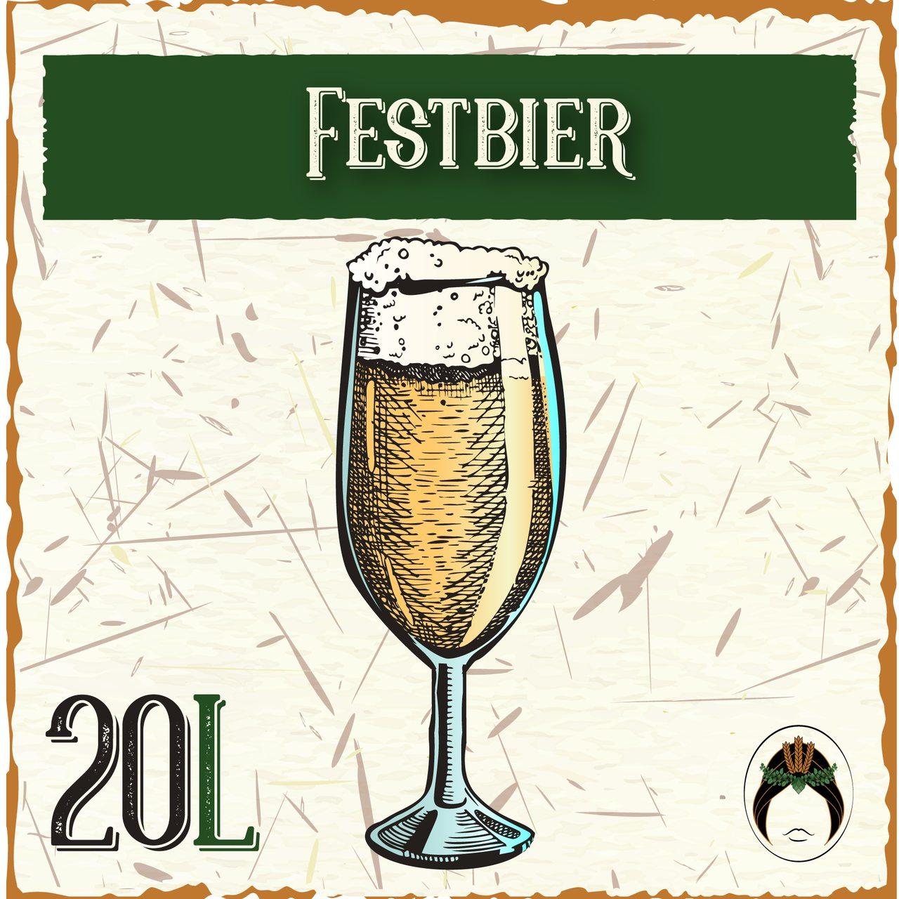 Receita de Cerveja Artesanal Festbier 20L  - Maria Cervejeira