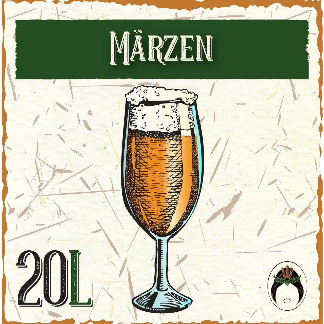 Receita de Cerveja Artesanal Märzen 20L  - Maria Cervejeira