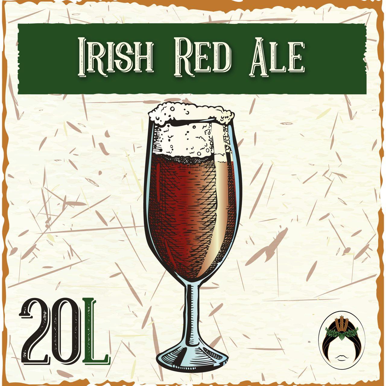 Receita de  Cerveja Artesanal Irish Red Ale 20L  - Maria Cervejeira