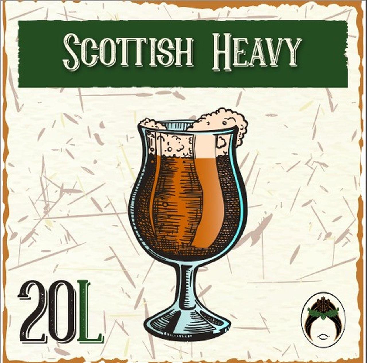 Receita de Cerveja Artesanal Scottish Heavy 20L  - Maria Cervejeira