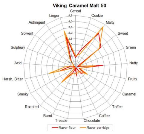Malte Viking Caramel 50 Embalagem 500g  - Maria Cervejeira