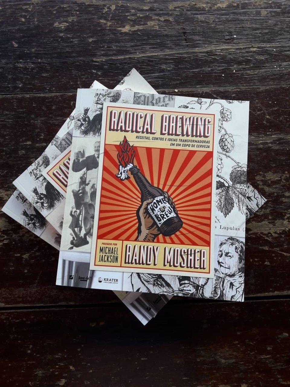 Livro Radical Brewing (Randy Mosher)  - Maria Cervejeira