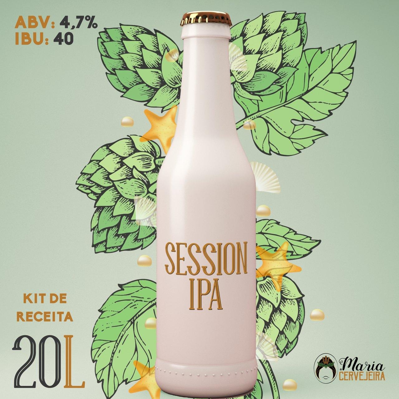 Receita Cerveja Artesanal Session IPA 20L