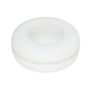 Vedante Branco de Silicone Para Balde de Fermentação