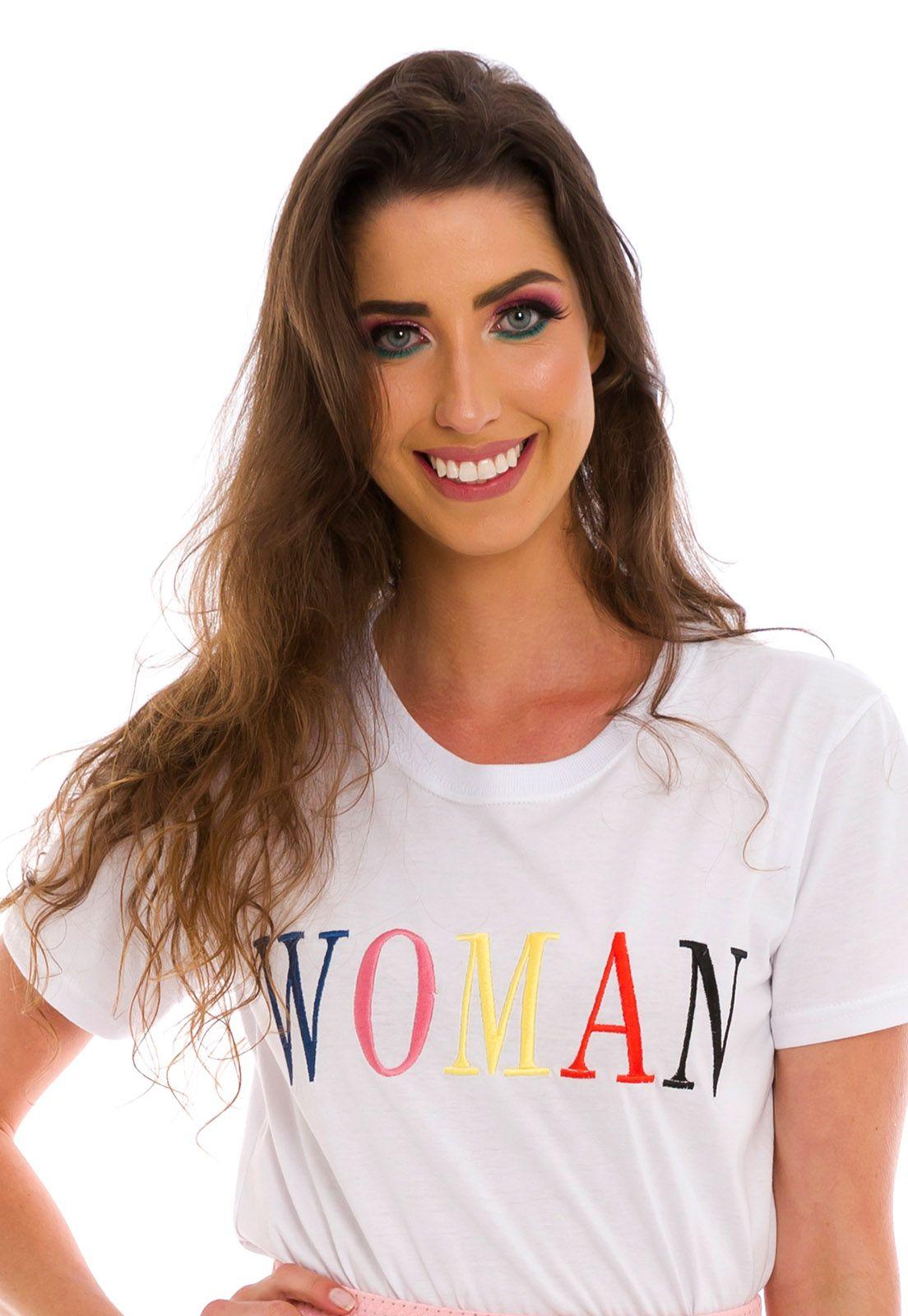 Blusa Bordada Woman Branca