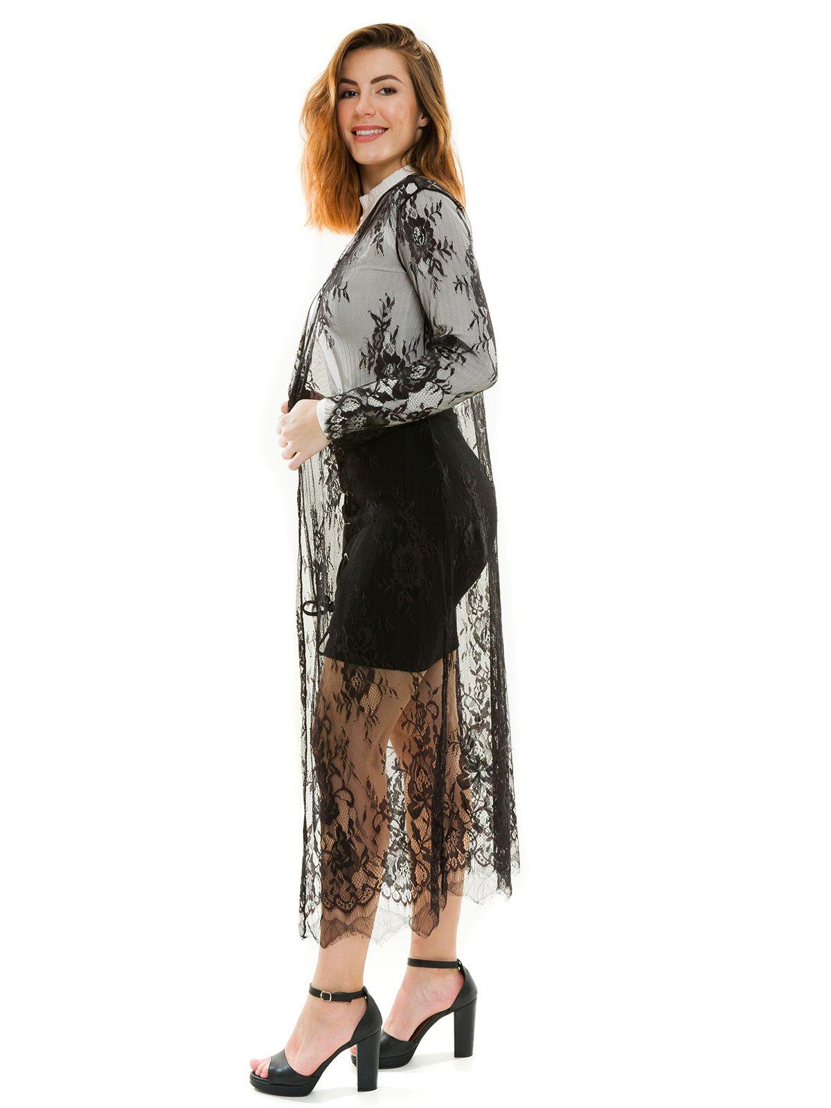 Kimono Longo Renda