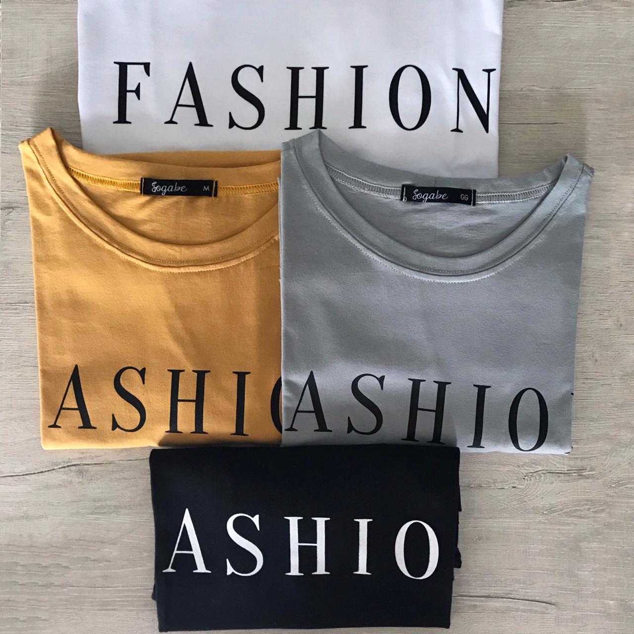 T-shirt Com estampa CORES VARIADAS