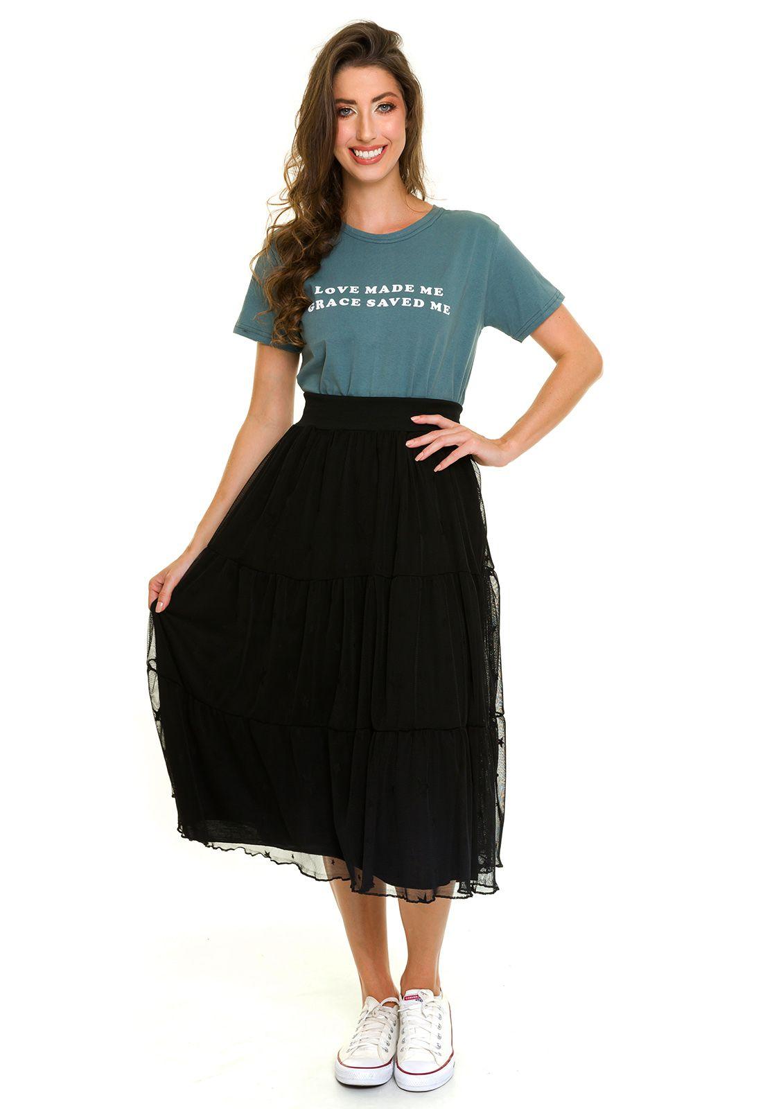 T-shirt Grace Verde