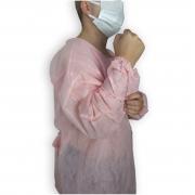 Avental Tnt Rosa 40g C/01 - Sp Protection