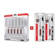 Clareador Dental Power Bleaching 16% AÇAÍ BM4 -  Kit com 7 Seringas