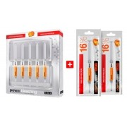 Clareador Dental Power Bleaching 16% Laranja BM4 - Kit com 7 Seringas
