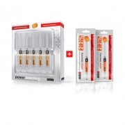 Clareador Dental Power Bleaching 22% Laranja BM4 - Kit com 7 Seringas