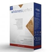 Clareador Dental Whiteness Perfect 16% FGM - Mini Kit com 3 unidades + Par de Moldeira - Technew