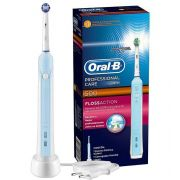 Escova Elétrica Professional Care 500 220v + 2 refis Floss Action - Oral-B