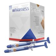 Clareador Dental Whiteness Perfect 16% FGM - com 8 unidades + Par de Moldeira - Technew