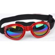 Óculos De Sol Para Cães Com Proteção Uv - Cor Vermelho