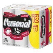 Papel Higiênico Folha Dupla  Vip Personal - 12 rolos