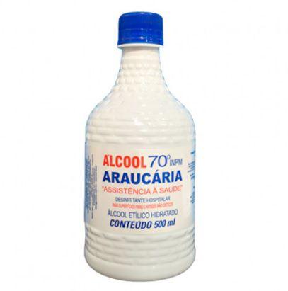 Álcool Líquido 70% Araucária - 500ml