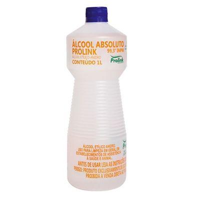 Álcool Absoluto  99,5% (99,3 INPM) Prolink - 1L