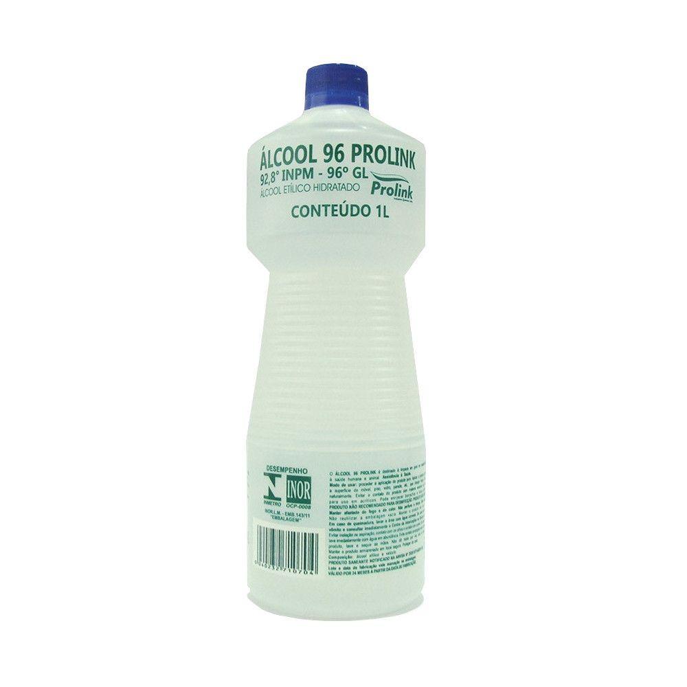 Álcool Líquido 92º INPM (96º GL)  Prolink - 1 Litro