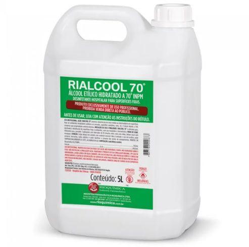 Álcool Rialcool 70 Rioquímica - 5L
