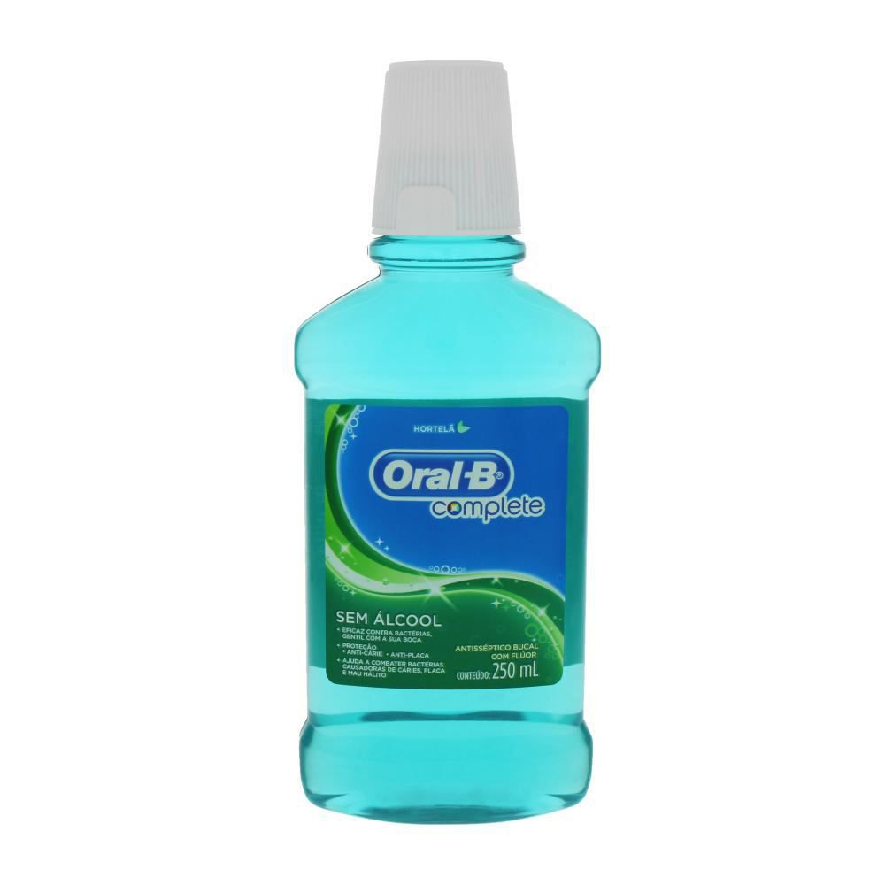 Antisséptico Bucal Complete Hortelã 250ml - Oral-B