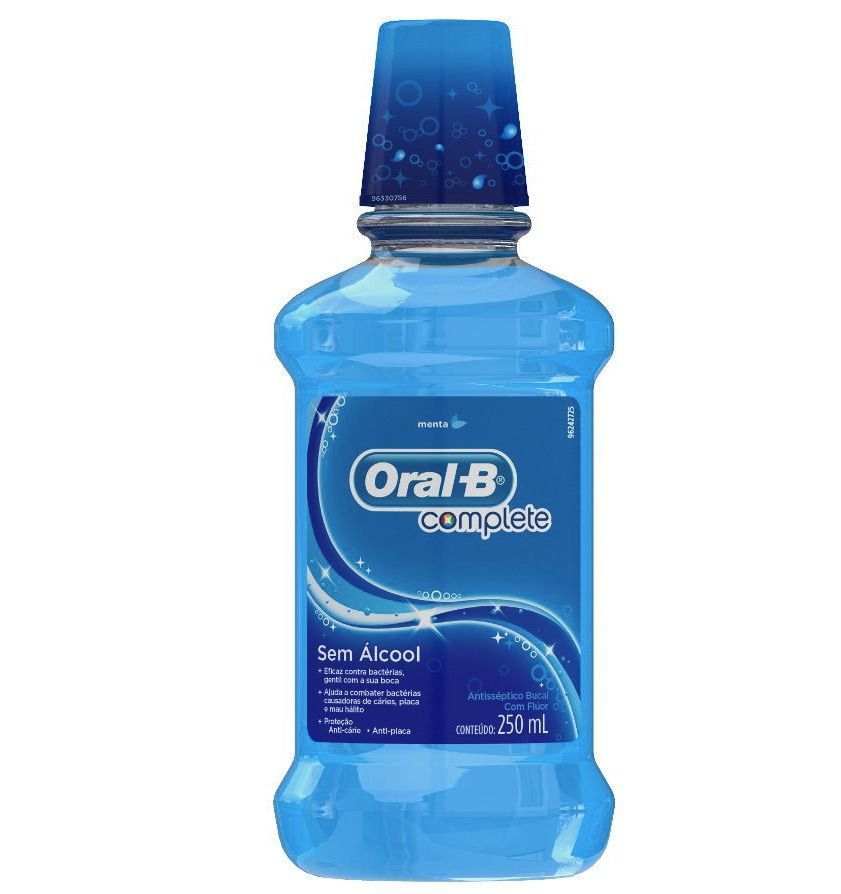 Antisséptico Bucal Complete Menta 250ml - Oral-B