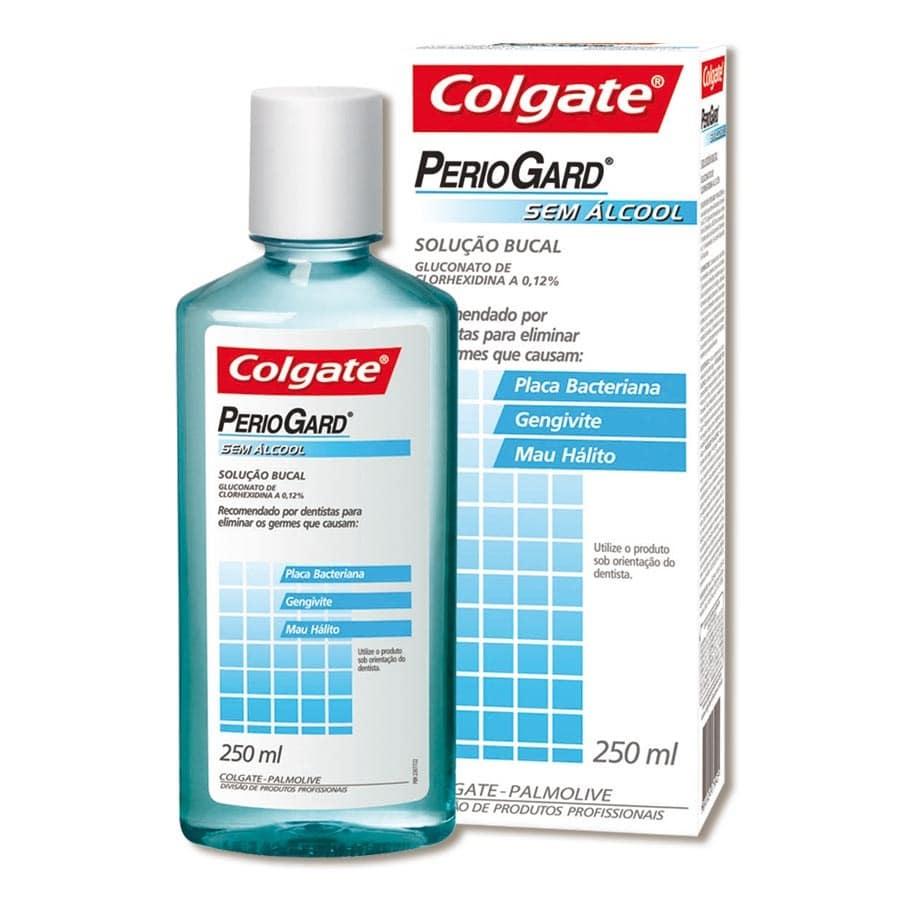 Antisséptico Bucal Periogard sem Álcool 250ml - Colgate
