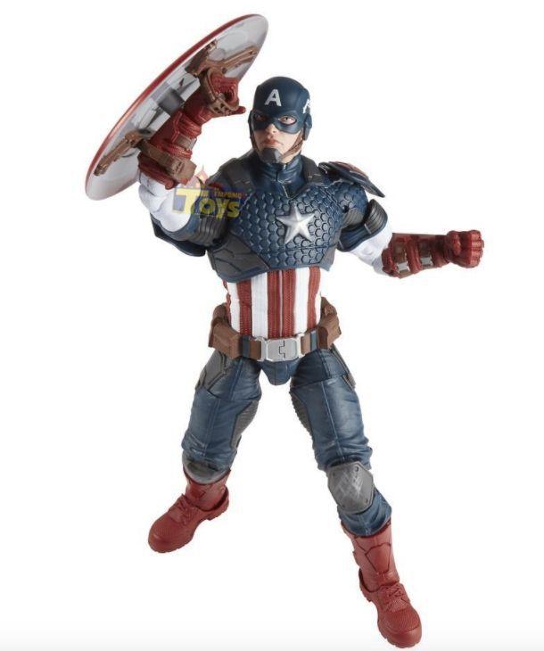 Capitão América Premium B7433 Marvel Legends - Hasbro