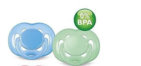 Chupeta Freeflow Double Pack Azul/ Verde Philips Avent - 2 unidades 6-18m
