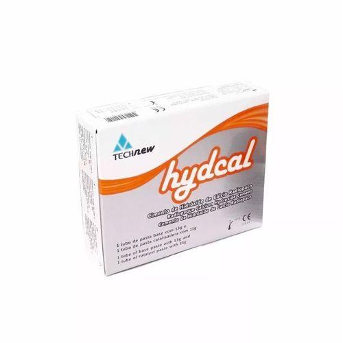 Cimento De Hidróxido De Cálcio Cola Dente Provisório Hydcal Technew - 5 unidades
